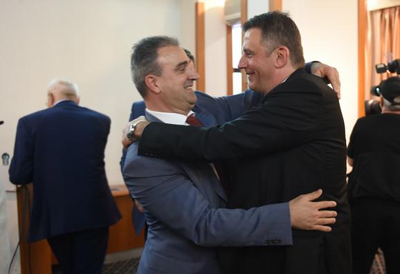 Saša Vlaisavljević, direktor Air Serbia u srdačnom pozdravu sa novim predsednikom VSS-a