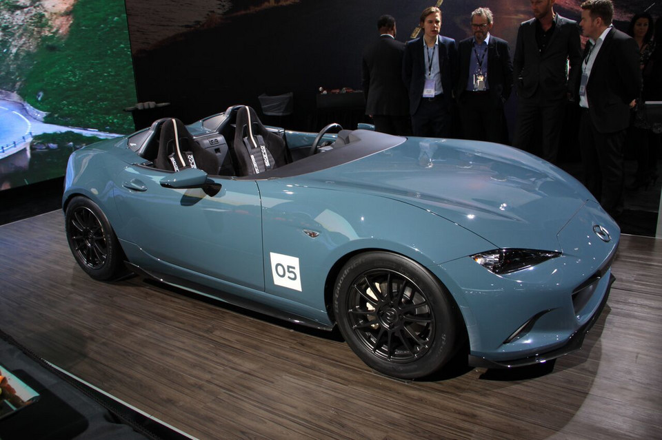 Detroit 2016 - Mazda MX-5 Speedster