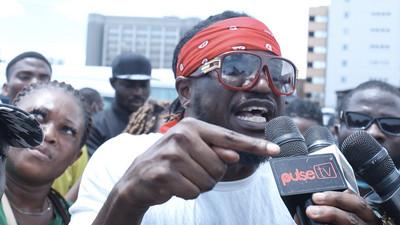 Peter Okoye, Timi Dakolo, Peruzzi, others speak to Pulse during #EndSars protests in Lagos