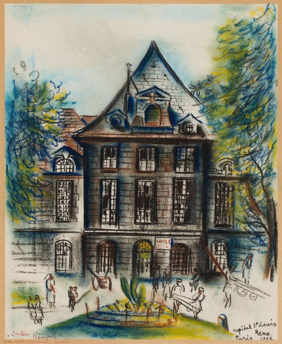 "Irena Reno - ""Hopital St Louis"" (1932)"