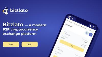 Bitzlato —  a modern P2P cryptocurrency exchange platform