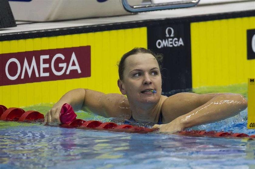 Otylia: wolę pływać niż być celebrytką