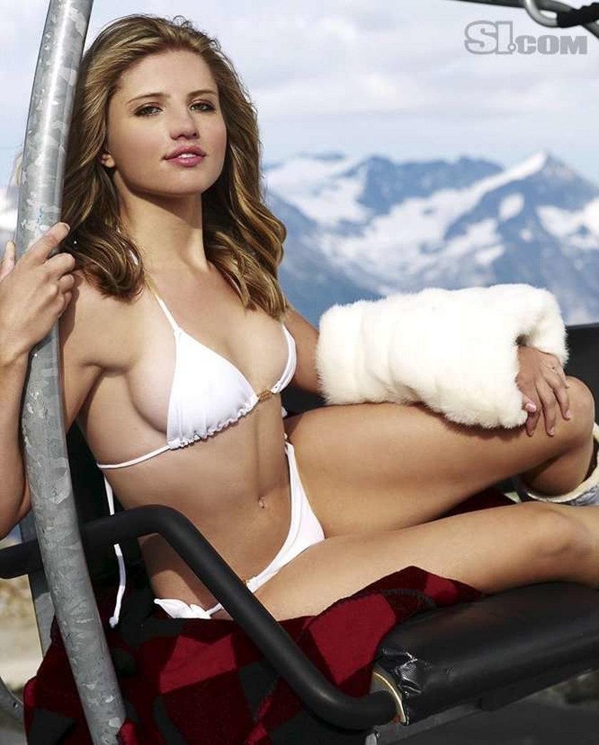 Seksi snowboardzistka pokazała ciało