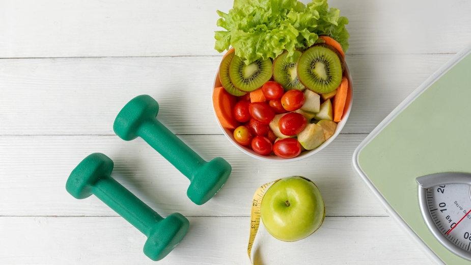 Sposobem na odchudzanie jest zmiana nawyków żywieniowych