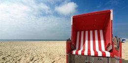 Zwłoki Polaka w koszu plażowym w Niemczech