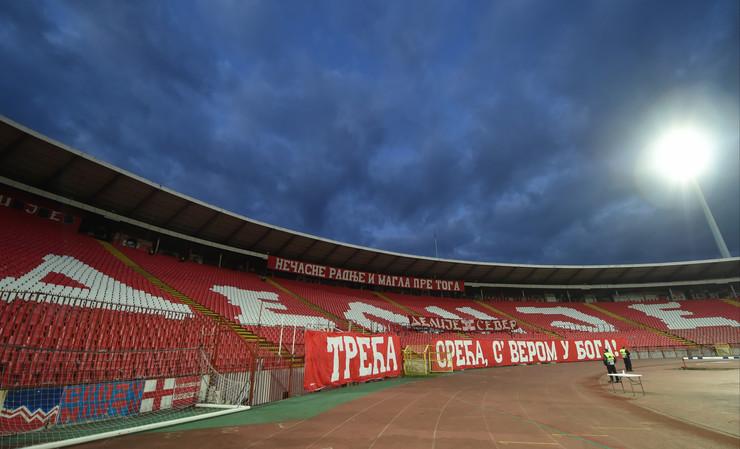 Detalj sa meča Milan - FK Crvena zvezda