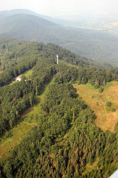 Hrobacza Łąka - szczyt nad Kozami