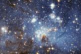 LH 95 stellar nursery in the Large Magellanic Cloud