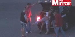 Policjanci patrzyli jak porywają kobietę! Nie pomogli jej