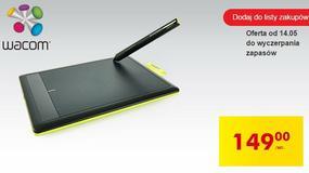 Tablet graficzny Wacom ponownie w Biedronce za 150 złotych - tym razem nawet w większym rozmiarze