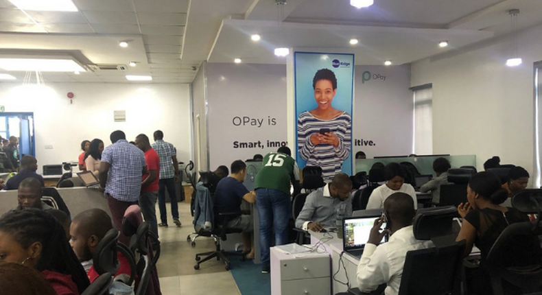 OPay Nigeria - file photo used to illustrate the story
