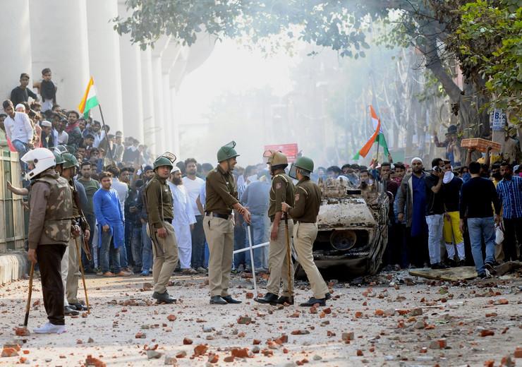 Demonstracije u Indiji