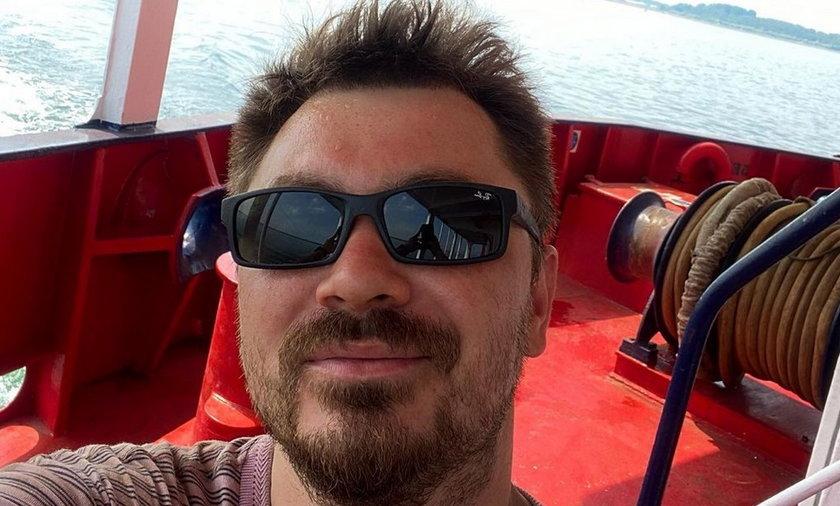 Daniel Martyniuk opowiedział o pracy na statku w charakterze majtka.