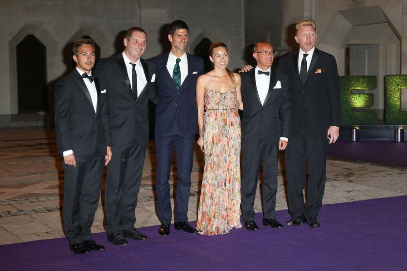Zwycięzcy Wimbledonu na czerwonym dywanie! GALERIA