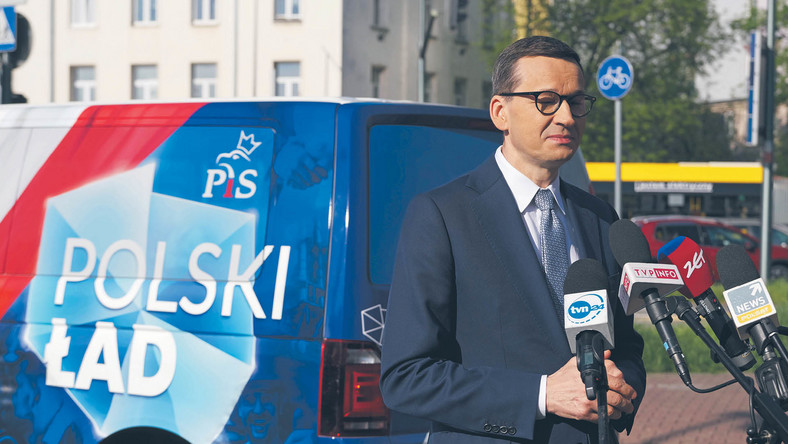 Premier Mateusz Morawiecki prezentuje Polski Ład, najnowszy plan reform obozu rządzącego