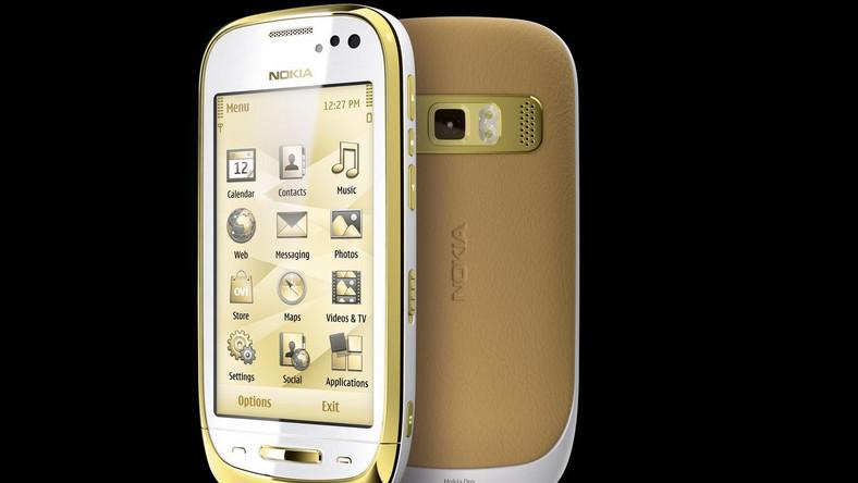 Oto Nokia ze szczerego złota