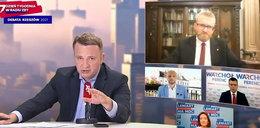 Braun obrażał homoseksualistów i ministra Niedzielskiego. Dziennikarz wyrzucił go z debaty