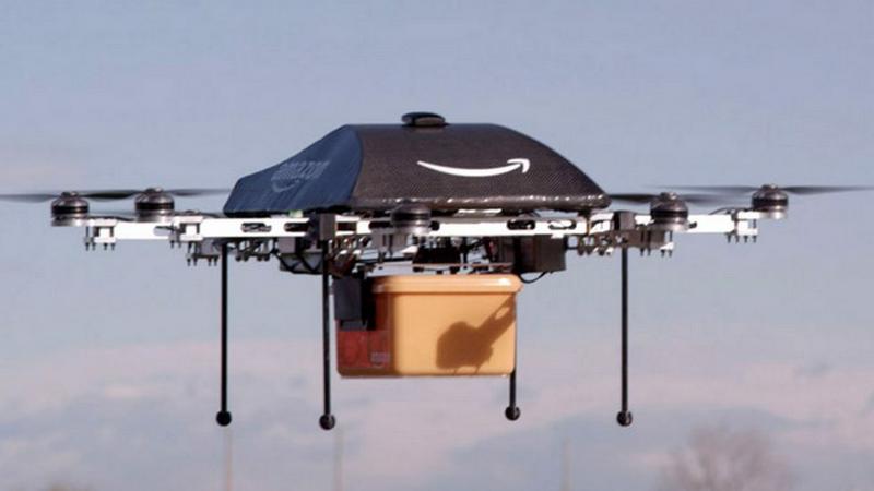 Biały Dom wspiera testy dostawczych dronów