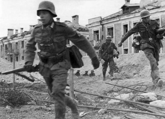 Nemački vojnici u Staljingradu