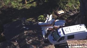 Kalifornia: samolot Cesna uderzył w dom jednorodzinny