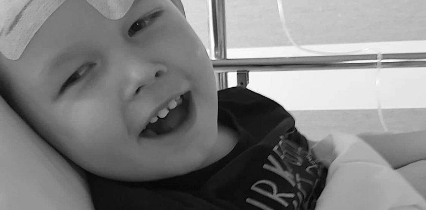 Nie żyje 3-letni Kazik z Kozienic. Przegrał walkę z nowotworem