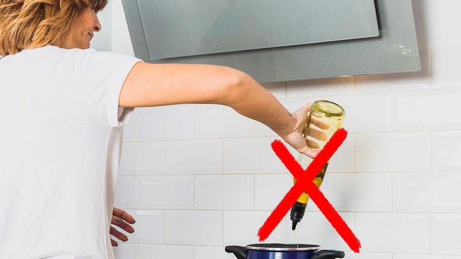 Błędy, które najczęściej popełniamy w kuchni