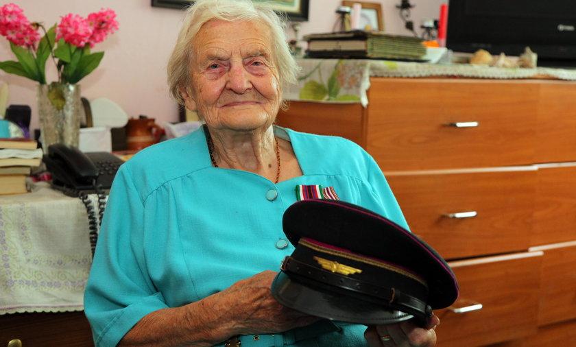 Porucznik Barbra Lisicka, łączniczka Armii Krajowej obwodu Garwolin