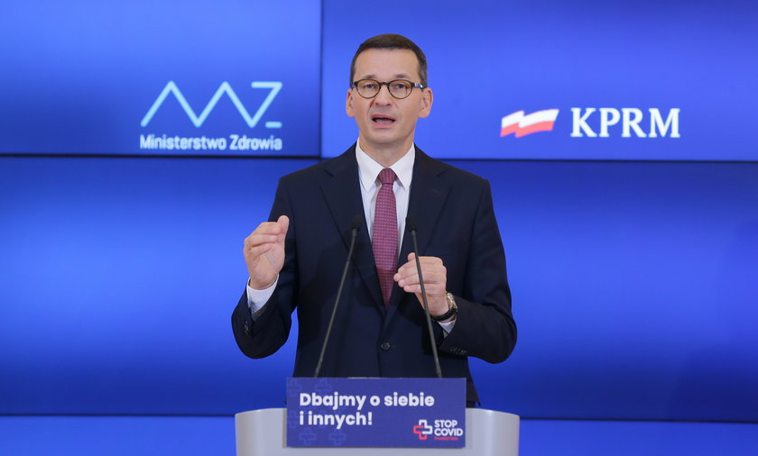 Na zdjęciu: premier Mateusz Morawiecki.