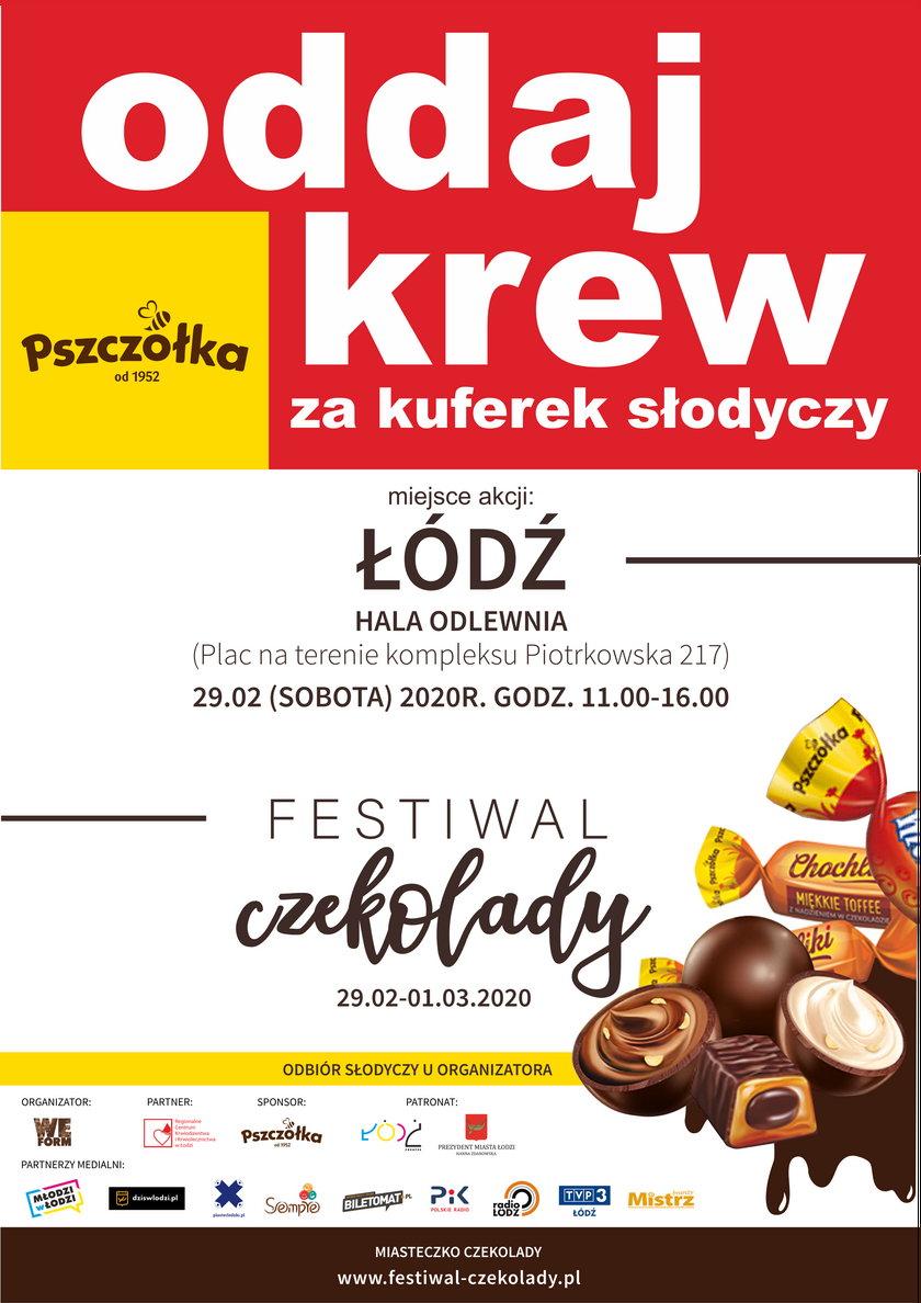 Festiwal Czekolady w Łodzi. Poznaj słodkości z różnych zakątków świata