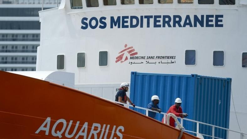The Aquarius has helped almost 30,000 migrants at sea
