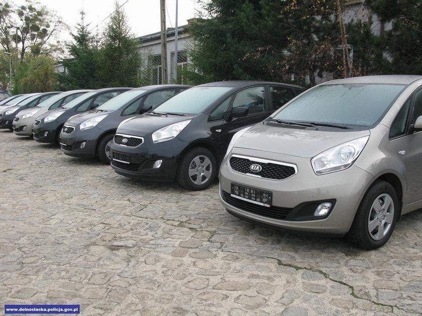 Kia Venga – tymi autami dolnośląscy policjanci będą ścigać piratów drogowych