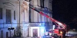 Pożar XIX-wiecznego pałacu w Posadowie