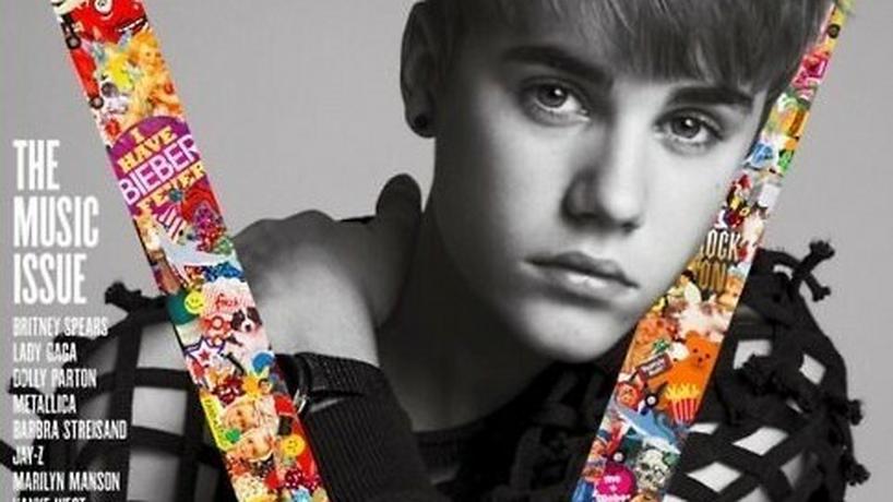 Justin Bieber dla V Magazine