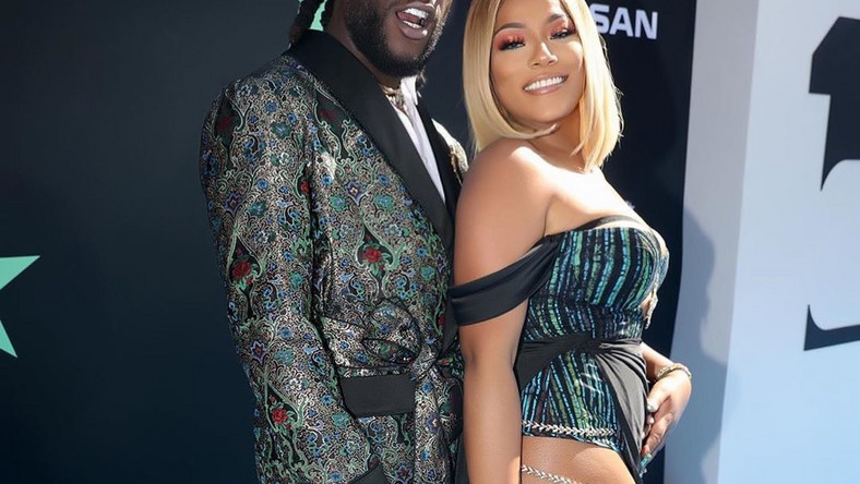 Stefflon Don has revealed how she met her boo, Burna Boy and it would surprise many that they actually met at a show in Ghana [Instagram/StefflonDon]