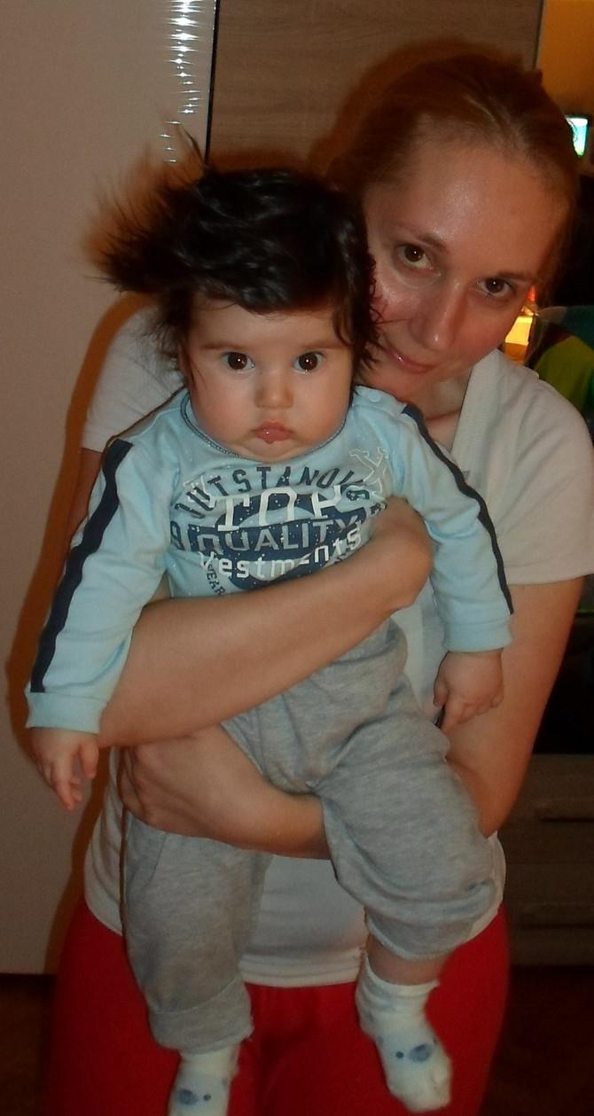 Sa mamom Jelenom