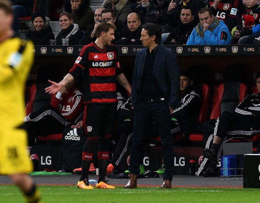 Felix Zwayer, sędzia meczu Bayer Leverkusen – Borussia Dortmund, obraził się na trenera i przerwał mecz
