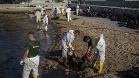 Rozszerza się katastrofa ekologiczna w Grecji po wycieku z tankowca