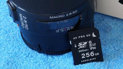 Angelbird AV PRO SD V90: High-End SD-Karte für Profis