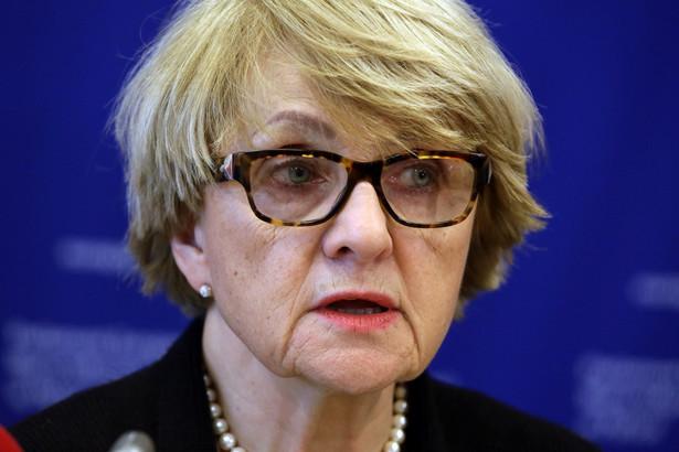 Danuta Hübner europosłanka Platformy Obywatelskiej, w latach 2004–2009 unijny komisarz ds. polityki regionalnej