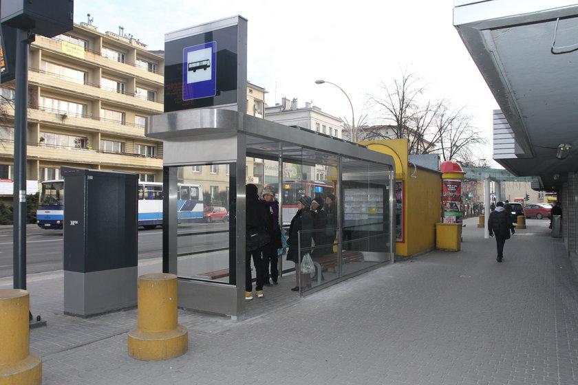 Ogrzewany przystanek