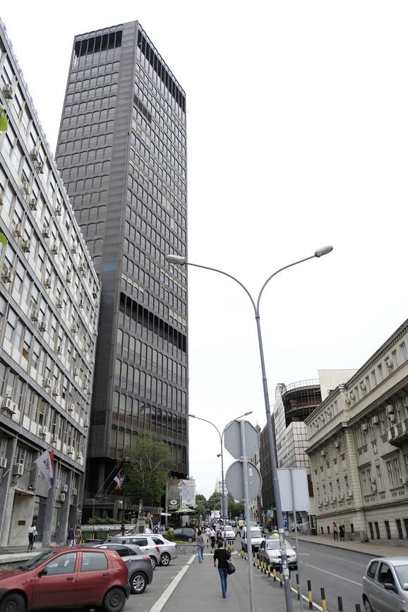 Jedna od najviših zgrada u Beogradu