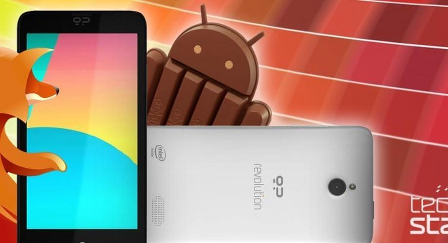 Geeksphone Revolution offiziell: Android oder Firefox OS