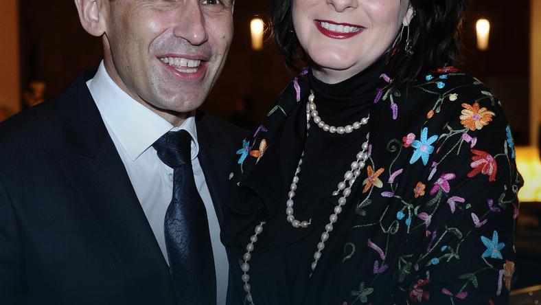 Robert Korzeniowski i Magdalena Kłys