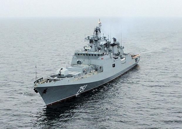 Fregata Admirał Essen w 2016 roku trafiła na wyposażenie Floty Czarnomorskiej
