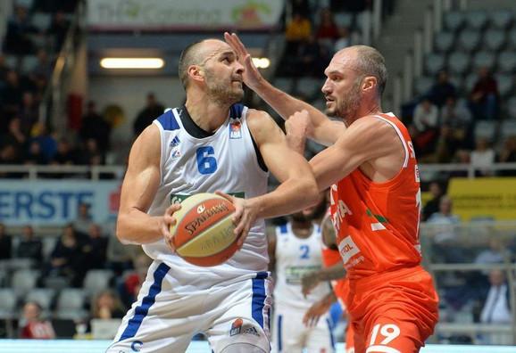 Detalj sa utakmice Zadar - Cedevita Olimpija