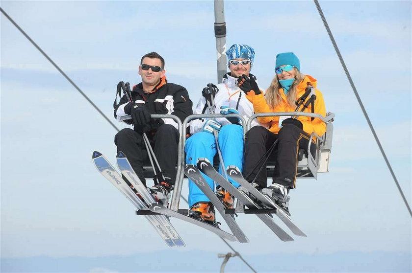 AlleZima, czyli gwiazdy jeżdżą na nartach