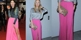 Różowa spódnica znów atakuje salony