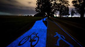 Pierwsza w Polsce świecąca ścieżka rowerowa