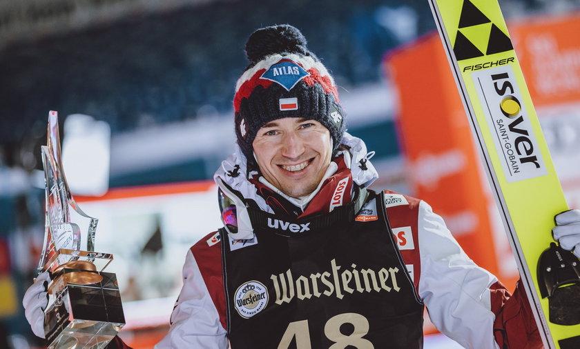 Kamil Stoch zajął drugie miejsce w niemieckim Klingenthal
