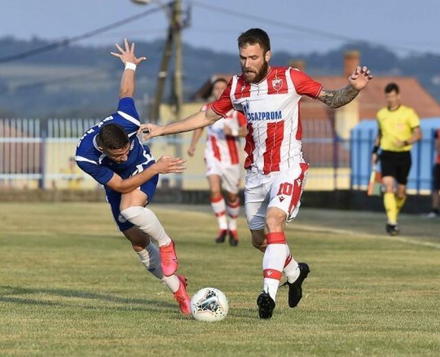 Aleksandar Katai na meču protiv IMT-a